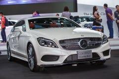 BANGKOK - 1ER DÉCEMBRE : Frein de tir de CDI de Mercedes-Benz CLS 250 c Photo stock