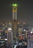Bangkok at evening Stock Image
