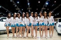 bangkok expomotor 2010 thailand royaltyfri fotografi