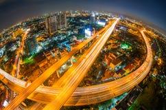 Bangkok expressway. Stock Photos