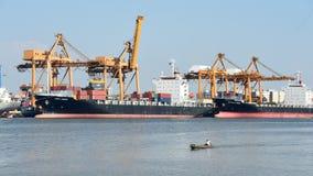 BANGKOK, février 26,2015 : Autorité portuaire de la Thaïlande Photo stock