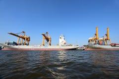 BANGKOK, février 26,2015 : Autorité portuaire de la Thaïlande Image stock