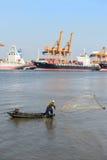 BANGKOK, février 26,2015 : Autorité portuaire de la Thaïlande Photographie stock libre de droits