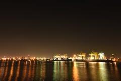 BANGKOK, février 26,2015 : Autorité portuaire de la Thaïlande Photographie stock