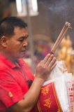 BANGKOK, - 10 FÉVRIER : Nouvelle année chinoise 2013 - célébrations dedans Photos stock