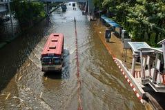 Bangkok-falschste Flut 2011 Stockfotografie