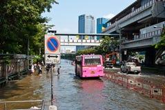Bangkok-falschste Flut 2011 Lizenzfreies Stockbild