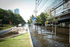 Bangkok-falschste Flut 2011 Lizenzfreie Stockfotografie