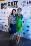 BANGKOK - 19 FEBBRAIO 2014: Ambasciatore Kristie Kenney degli Stati Uniti a MTV Immagini Stock Libere da Diritti