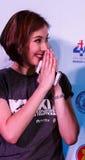 BANGKOK - 19 FEBBRAIO 2014: MTV esce la conferenza stampa tenuta in Ce Fotografia Stock Libera da Diritti
