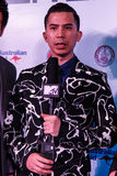 BANGKOK - 19 FEBBRAIO 2014: MTV esce la conferenza stampa tenuta in Ce Immagini Stock Libere da Diritti
