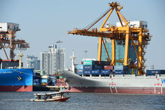 BANGKOK, February 26,2015: Port Authority of Thailand Royalty Free Stock Photo