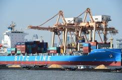 BANGKOK, February 26,2015: Port Authority of Thailand Royalty Free Stock Images