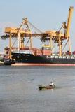 BANGKOK, February 26,2015: Port Authority of Thailand Royalty Free Stock Photography