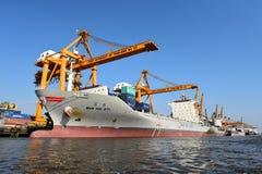 BANGKOK, February 26,2015: Port Authority of Thailand Royalty Free Stock Image