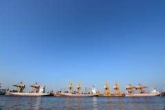 BANGKOK, February 26,2015: Port Authority of Thailand Stock Image