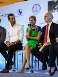 BANGKOK - FEBRUARY 19 2014: US Ambassador Kristie Kenney at MTV Stock Photos