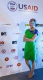 BANGKOK - FEBRUARY 19 2014: US Ambassador Kristie Kenney at MTV Stock Image