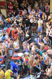 bangkok festivalsongkran thailand Royaltyfri Foto