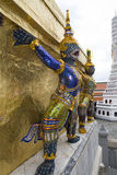 bangkok figures slottkunglig person Arkivbild