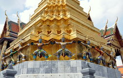 bangkok figures thailand för kaeokhongphraen wat Fotografering för Bildbyråer