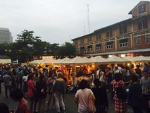 Bangkok flea market. Chillax, flea market royalty free stock photos