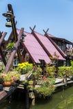 Bangkok Floating Market. Detail from Bangkok Floating Market in Thailand Stock Images