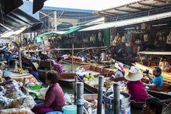 Bangkok Floating Market Royalty Free Stock Images