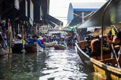 Bangkok Floating Market Stock Photography