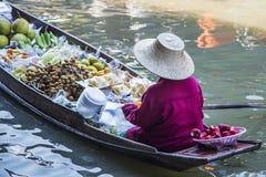 Bangkok Floating Market Royalty Free Stock Photography