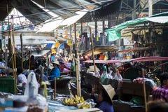 Bangkok Floating Market Stock Photos
