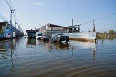 bangkok flod thailand Royaltyfria Foton