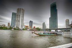 Bangkok flodfartyg Royaltyfri Bild