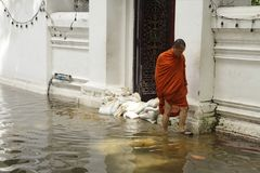 Bangkok Flood Stock Images