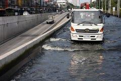 Bangkok floods Royalty Free Stock Photo