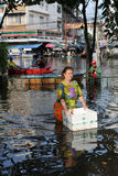 Bangkok Floods Royalty Free Stock Images