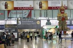 Bangkok flygplats Arkivfoton