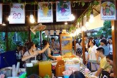 Bangkok food street Stock Images