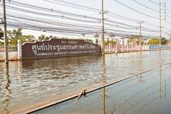 bangkok främre gatathailand thammasat Royaltyfria Bilder