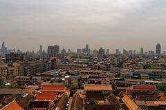 Bangkok från över Fotografering för Bildbyråer