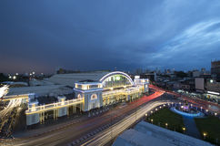 Bangkok główna stacja kolejowa, Hua Lum Pong Zdjęcia Stock