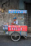 bangkok gatavednor Royaltyfri Bild