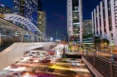 Bangkok-Geschäftszentrum stockbilder