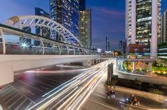 Bangkok-Geschäftszentrum stockbild