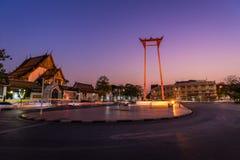 bangkok giant swing thailand Στοκ Εικόνα