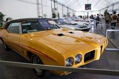 BANGKOK - 22 giugno Pontiac GTO il giudice 1970 su esposizione ai 3 immagini stock