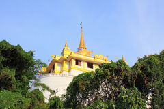 Bangkok Golden Mountain Temple Royalty Free Stock Photos