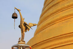 Bangkok Golden Mountain Temple Royalty Free Stock Photography