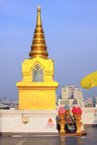 Bangkok Golden Mountain Temple Stock Photos