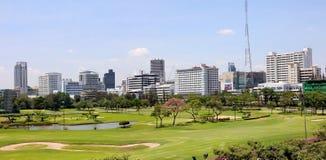 Bangkok golfbana Royaltyfri Fotografi